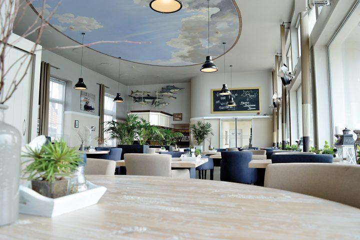 restaurant en ontbijtzaal van ons hotel in vlissingen zeeland