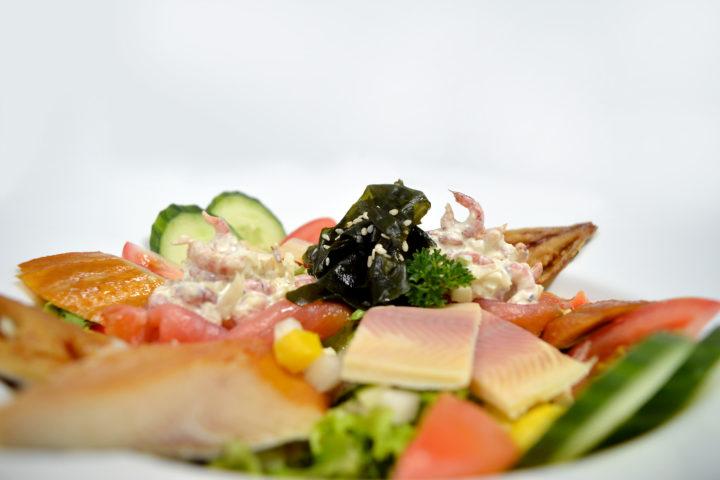 Vissalade Lunch belgische loodsensociëteit restaurant Vlissingen